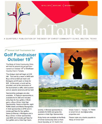 InTouch Newsletter - Fall 2018