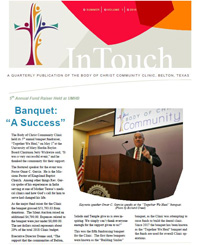 InTouch Newsletter - Summer 2018